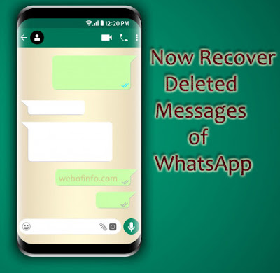 How to recover deleted whatsapp chat messages in android phone 2018