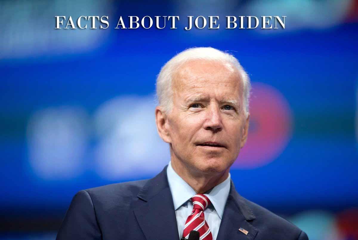 facts about joe biden us president