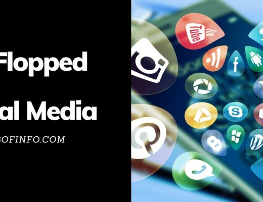 flopped Social Media sites