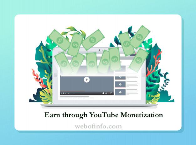Earn through YouTube Monetization