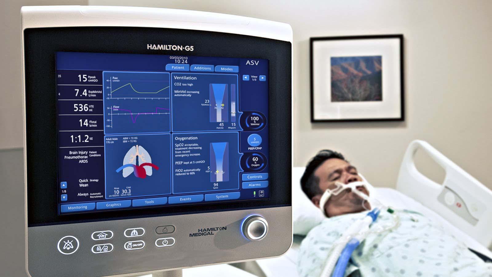 Ventilator medical tool