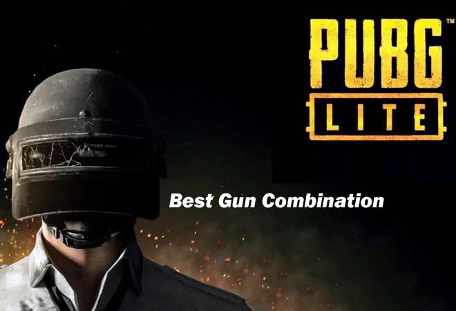 Best Gun Combination in PUBG Lite