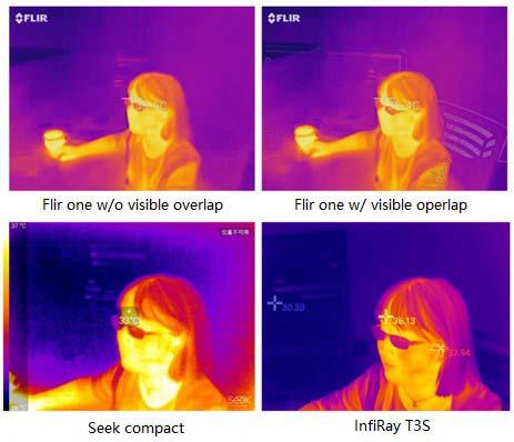Body Temperature Measurement images of thermal camera