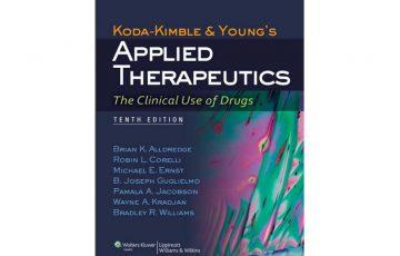 Applied Therapeutics 10th edition PDF Free Download
