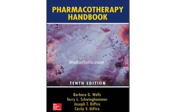 Pharmacotherapy Handbook 10th pdf