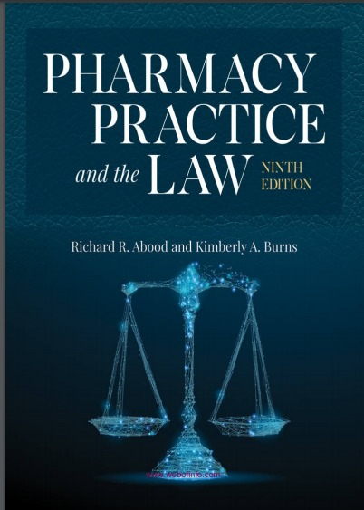 Pharmacy Practice and the Law 9th Edition (2019)