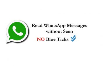 How to Read WhatsApp Messages without Seen Blue Ticks