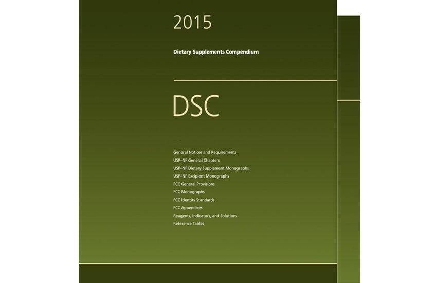 USP Dietary Supplements Compendium 2015